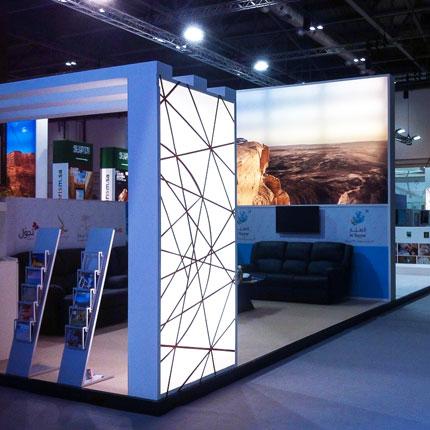 allestimenti fieristici Saudi Tourism - Al Allestimenti: allestimenti stand fieristici